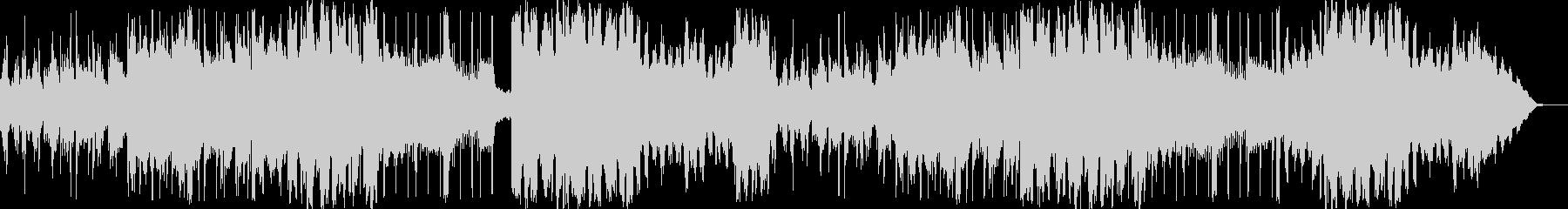 リラックスできるシンセサイザーのBGMの未再生の波形
