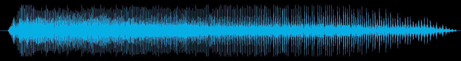 オートバイ モトクロス減速02の再生済みの波形