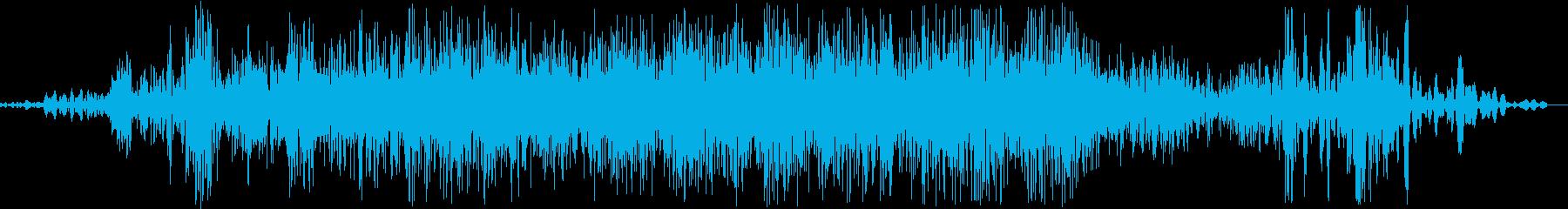 サーァァカタ。ふすまを閉める音です。の再生済みの波形