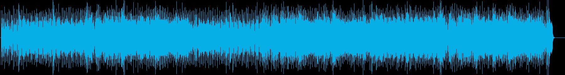 タイトでソリッドな80'sビートロックの再生済みの波形