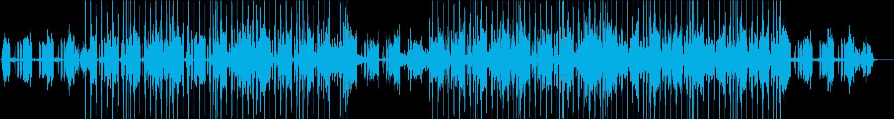 物品紹介に最適BGMの再生済みの波形