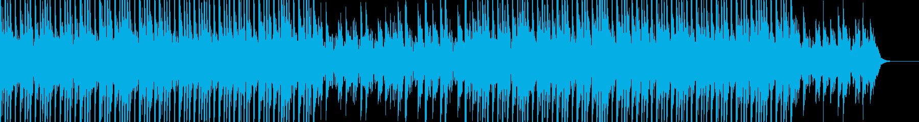 ニュース向け 柔らかなハウスの再生済みの波形