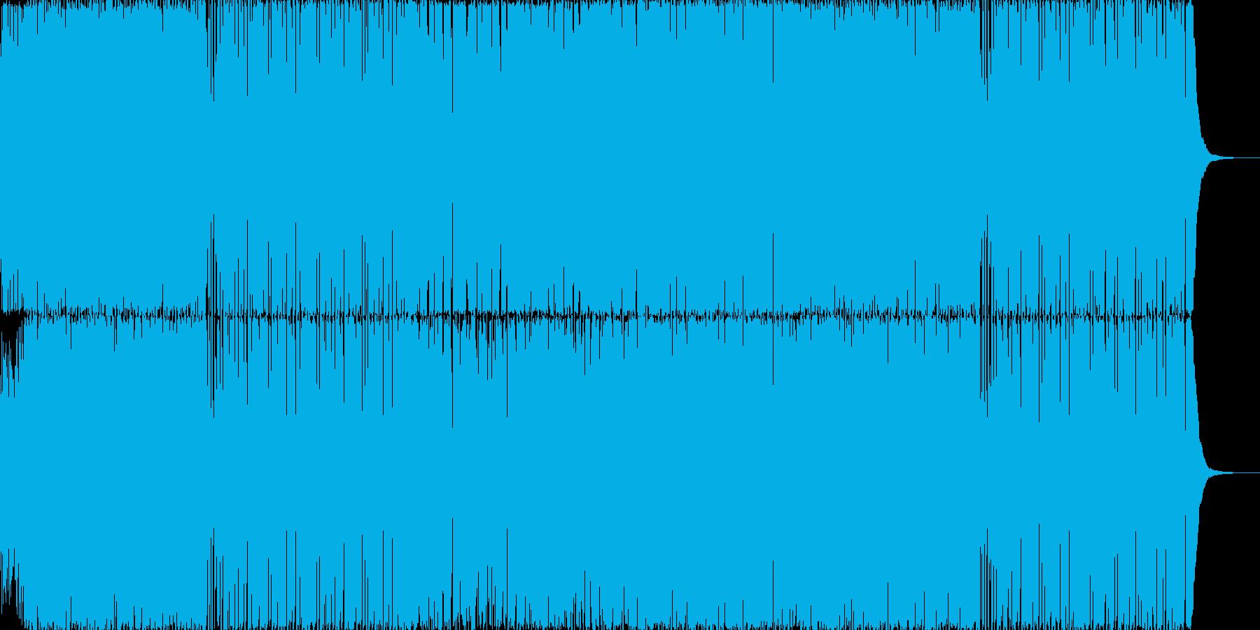 【和風ロック】忍者の里~甲賀~の再生済みの波形