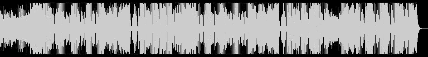 ワイルドでEDMロックなダンス曲の未再生の波形