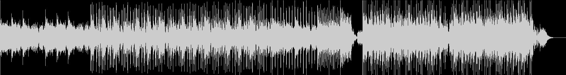 しっとりとしたスラップハウス(声入り)の未再生の波形