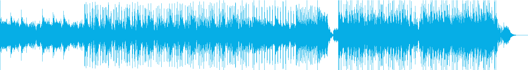 しっとりとしたスラップハウス(声入り)の再生済みの波形