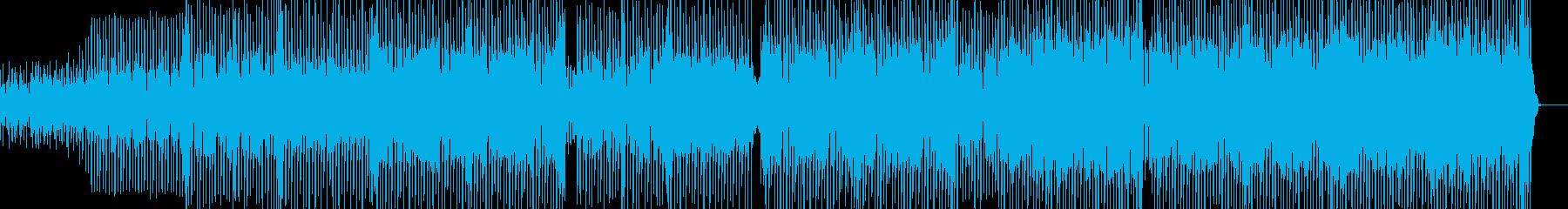 都会的ななテクノ エレキギター有・長尺+の再生済みの波形