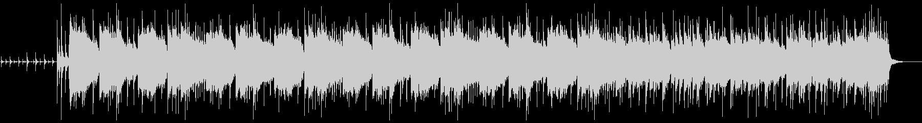 おしゃれで不思議な雰囲気のジャズなBGMの未再生の波形