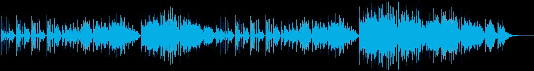 上品で穏やかな皇室用ピアノ曲bの再生済みの波形