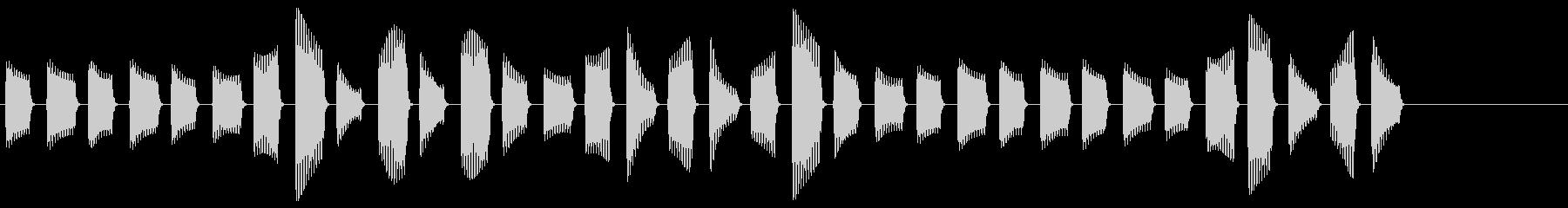 ピピピピピピピピピピピピ(目覚まし時計)の未再生の波形