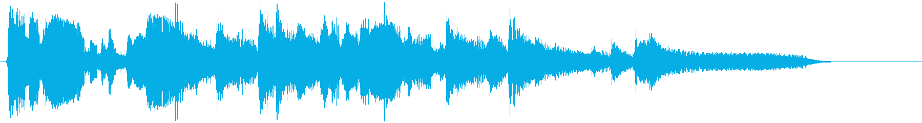 15秒CM向けの渋いサックスバラードの再生済みの波形