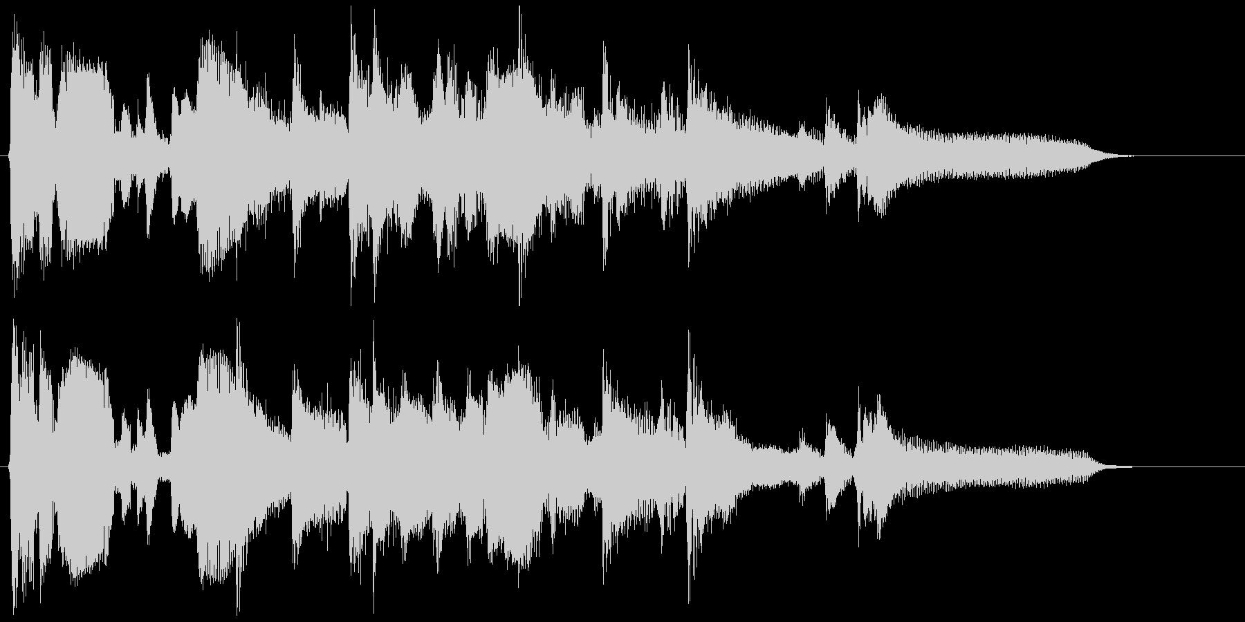 15秒CM向けの渋いサックスバラードの未再生の波形