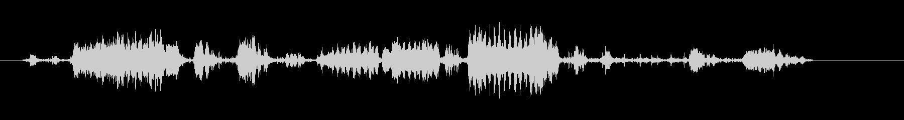 馬-レスランド-哺乳類の未再生の波形