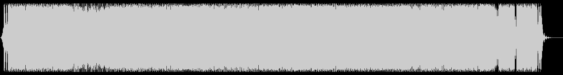 RPGの戦闘シーンの様なBGMの未再生の波形