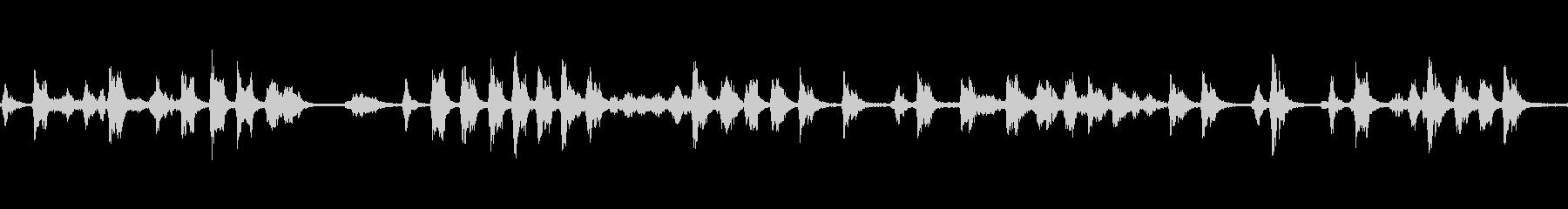 谷戸山公園_野鳥の鳴き声(ループ)の未再生の波形