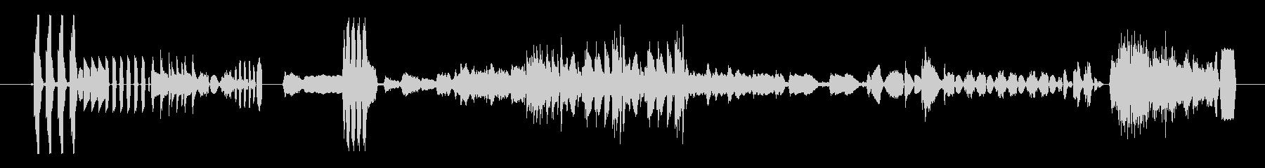 奇抜なデバイスビープ音/高速;音楽...の未再生の波形