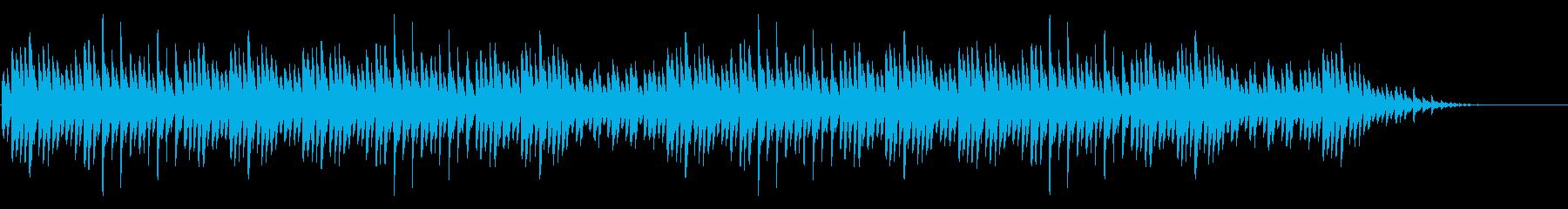 「大きな栗の木下で」シンプルなピアノソロの再生済みの波形