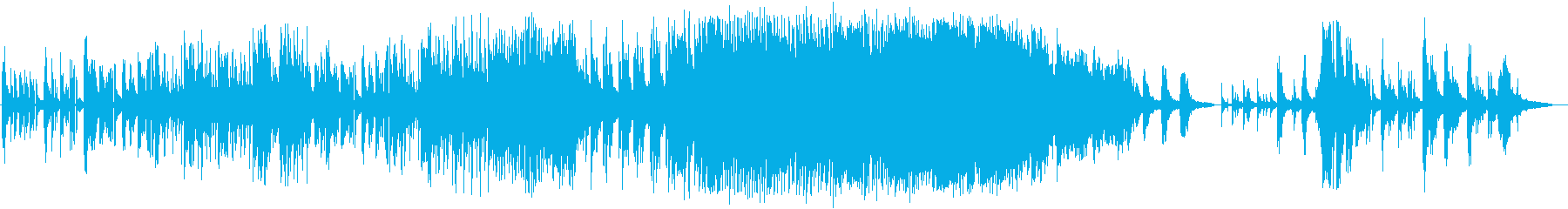 映像作品のフィナーレに相応しいピアノ曲の再生済みの波形
