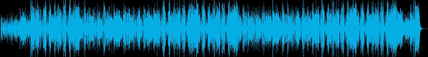 爽やかなビッグバンド コンテンポラリー系の再生済みの波形