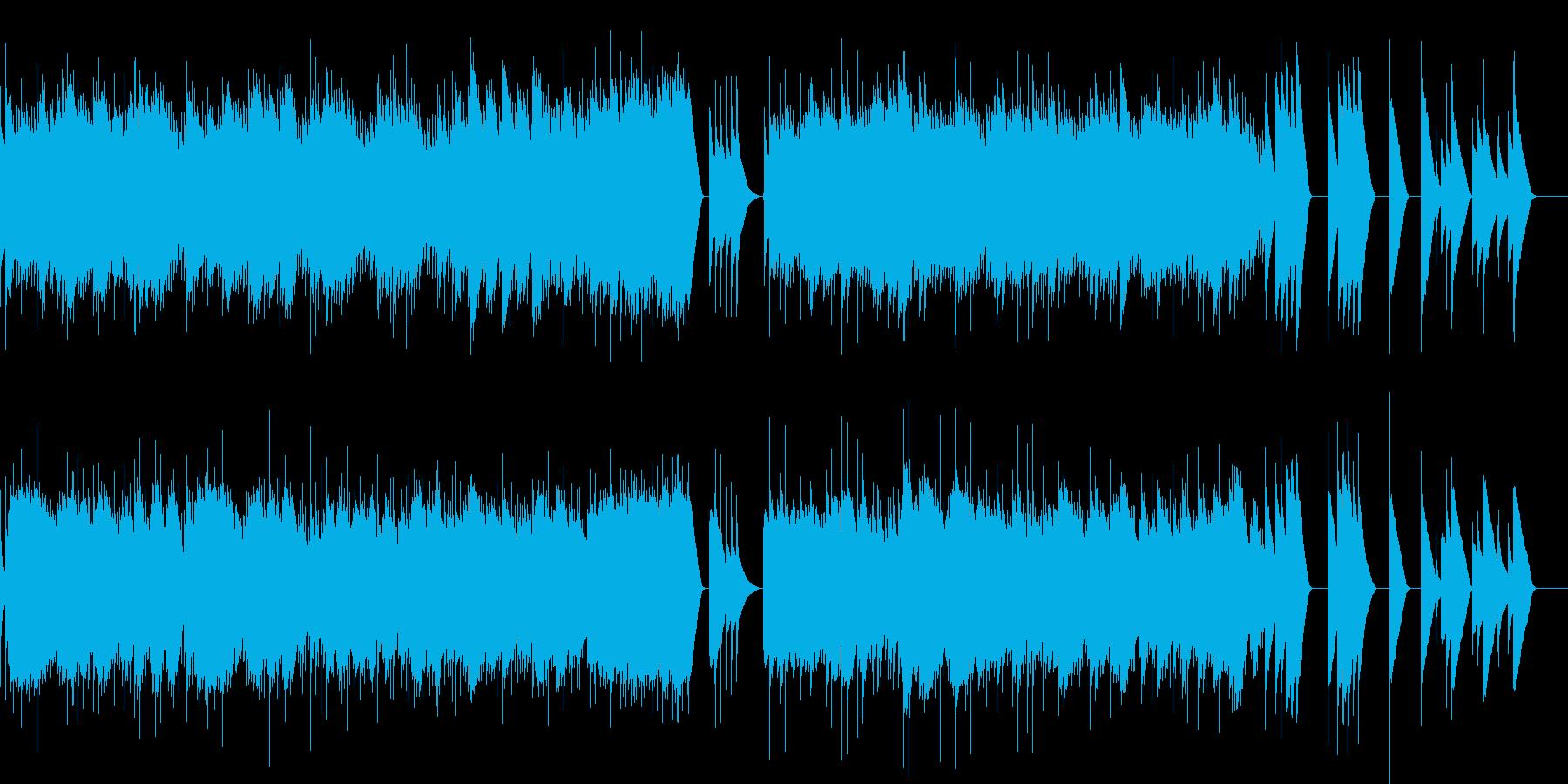 リスト 愛の夢 第3番 (オルゴール)の再生済みの波形