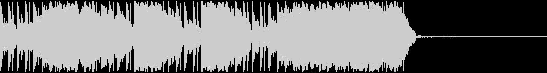 【EDM】約30秒、ジングル1の未再生の波形