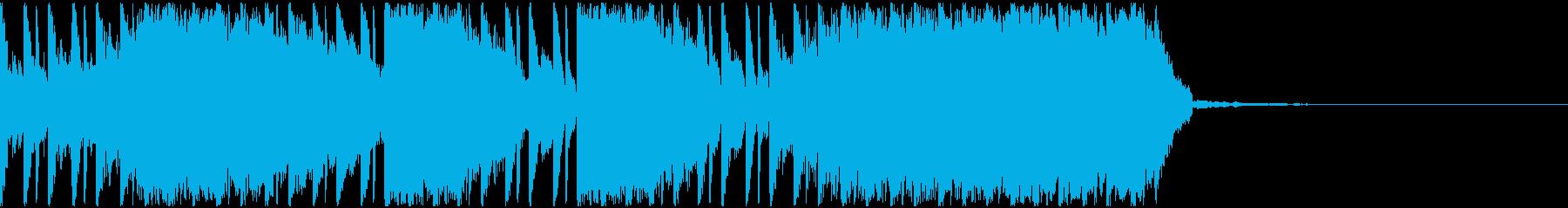 【EDM】約30秒、ジングル1の再生済みの波形