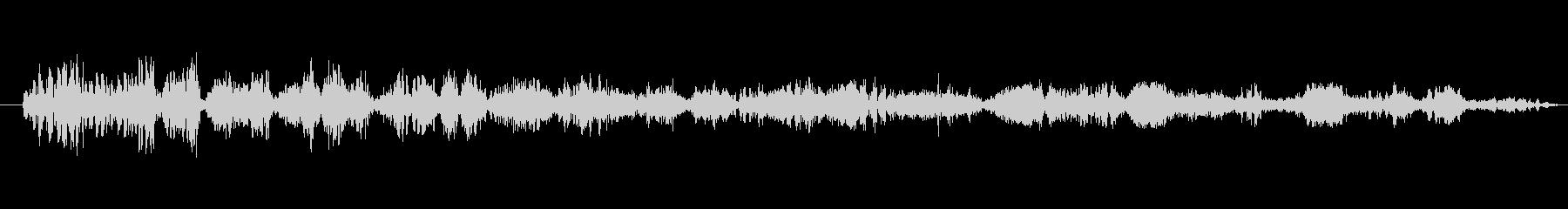 フィクション 送信 揮発性渦01の未再生の波形