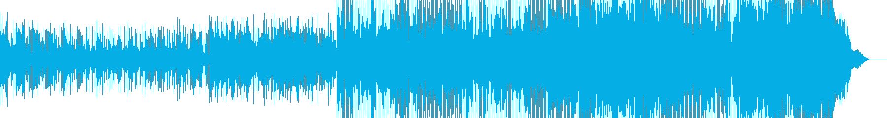 ポップ。メロディック。エネルギー。の再生済みの波形