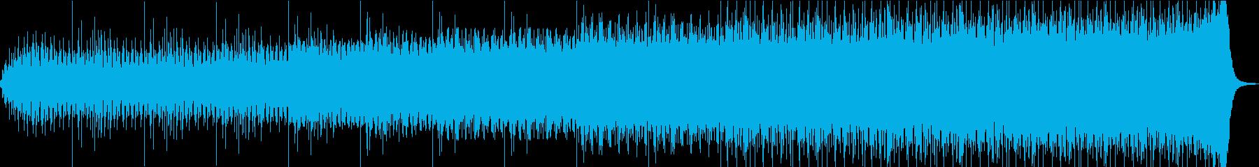 サスペンス映画的な雰囲気の映像にどうぞの再生済みの波形