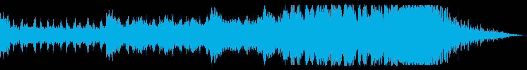 ドローン、リズミカル、グリッチ、過...の再生済みの波形