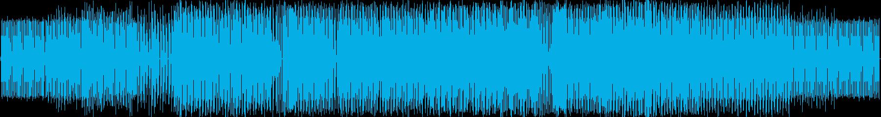 90年代の電子的かつ緊急。の再生済みの波形