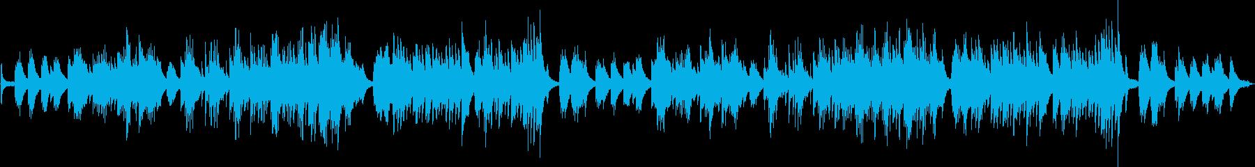 ピアノ生演奏/回想・運命・幸せ・愛・静かの再生済みの波形