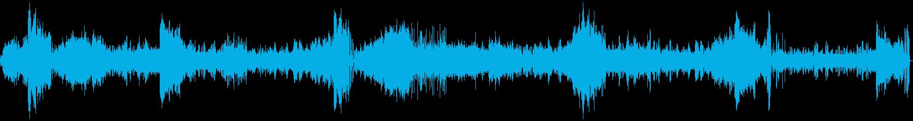 森を抜けて初夏の海へたどり着くような曲の再生済みの波形