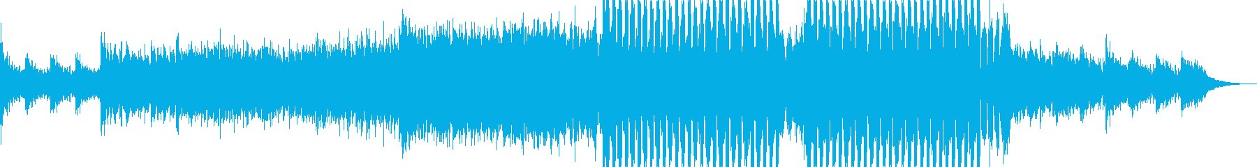 ピアノとシンセ主体の,儚さも感じるEDMの再生済みの波形