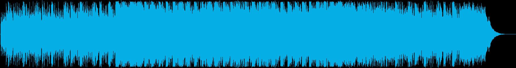 CM・キラキラ楽しい洋楽EDMの再生済みの波形