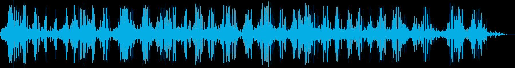 何か不気味な音がなる地下牢/ロープ/恐怖の再生済みの波形