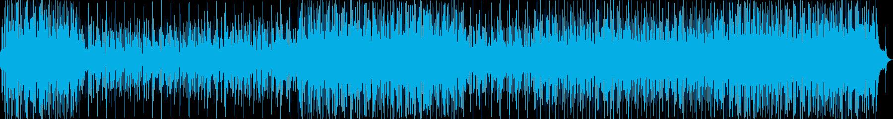 古典的なイタリアのポップソングの背景。の再生済みの波形