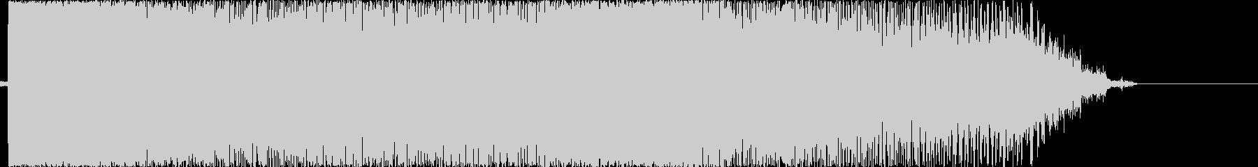 電動ノコギリの音の未再生の波形