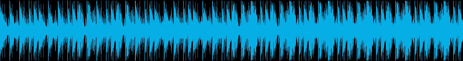 癒し・優しさ・ペット動画にも【ループ可】の再生済みの波形