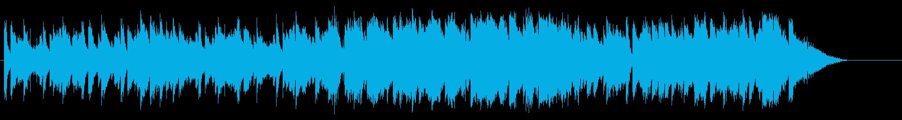 甘くムーディーなジャズ・バラードの再生済みの波形