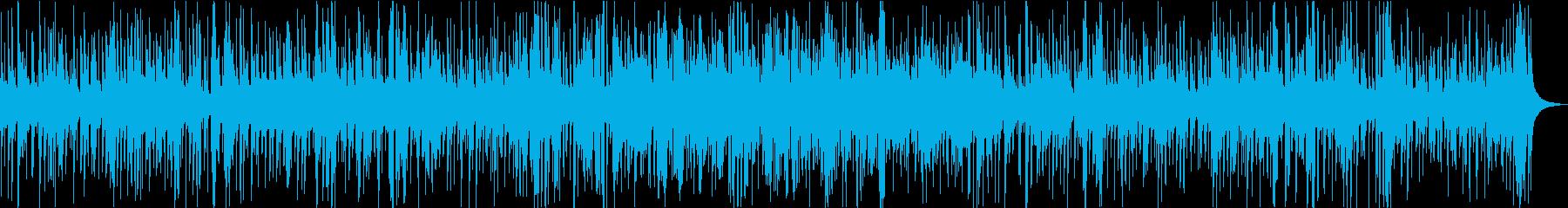 爽やかなアコースティックジャズ楽曲の再生済みの波形