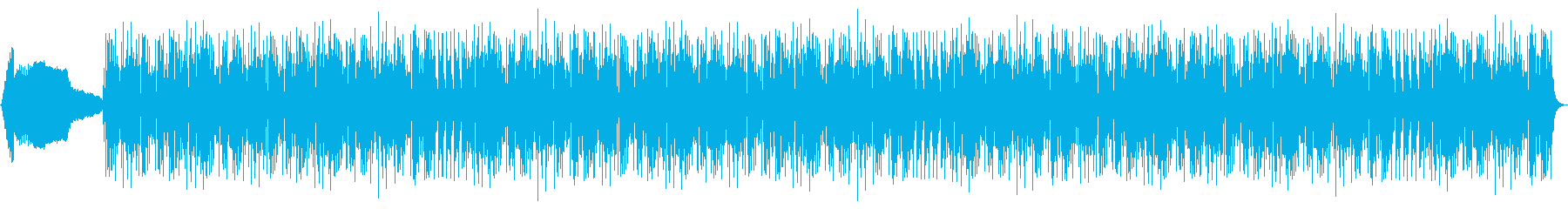 モダンなデジタルロック、スロームー...の再生済みの波形