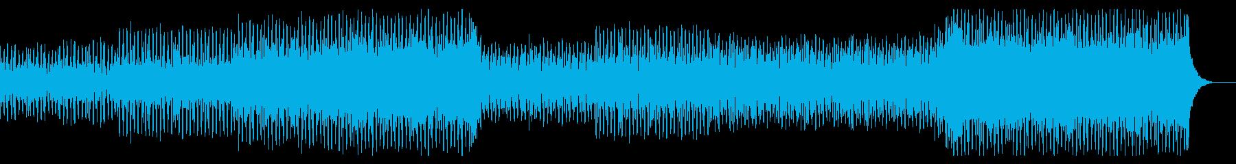エレクトロとロックが融合したスピード感の再生済みの波形