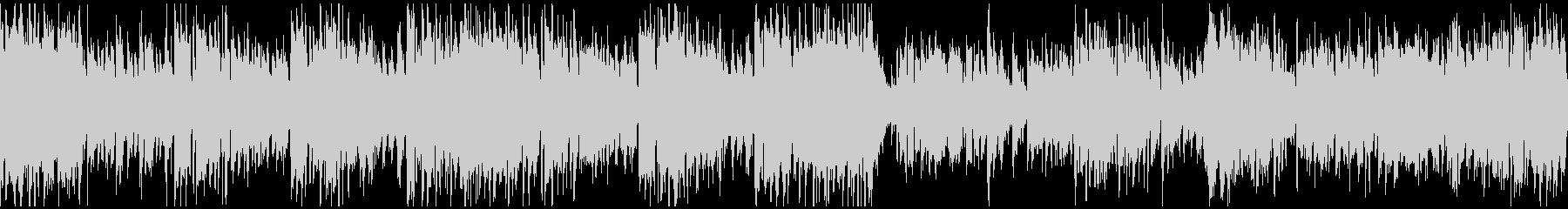 アグレッシブ管楽器ジャズ ※ループ仕様版の未再生の波形