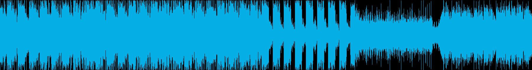 【ループ】オシャレ、エレクトロ、動画、Sの再生済みの波形