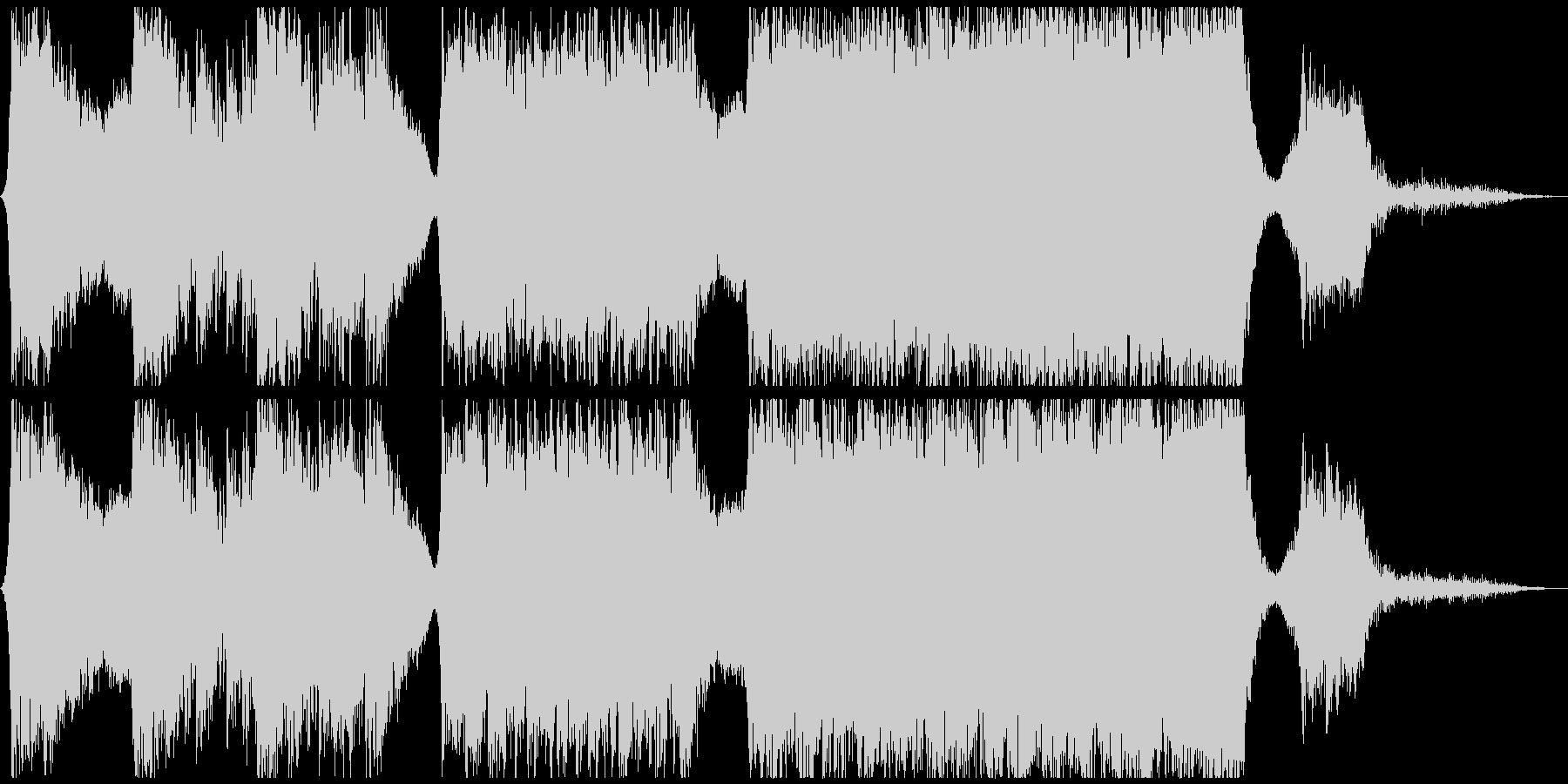 エレクトロ 交響曲 バトル 焦り ...の未再生の波形