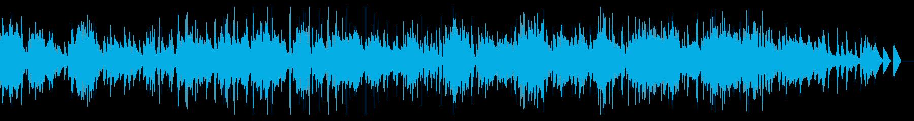 いろんなグリッジ音のするIDMの再生済みの波形