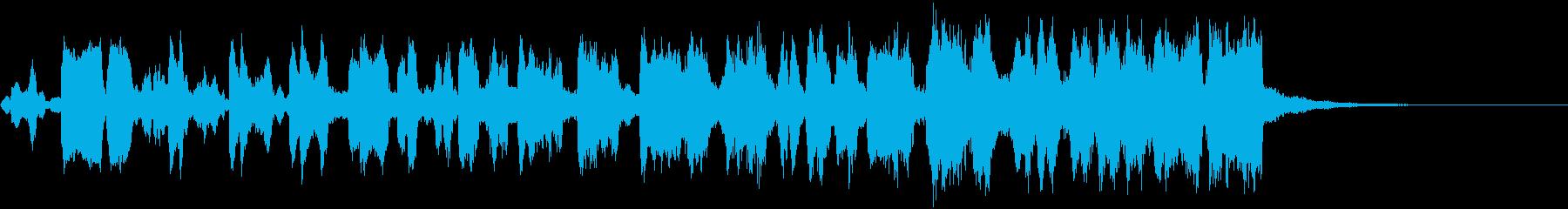CINEMATIC RISER_16の再生済みの波形