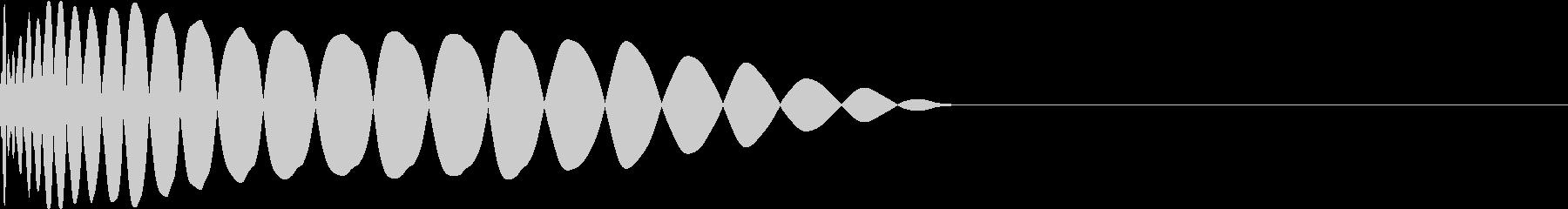 DTM Kick 54 オリジナル音源の未再生の波形