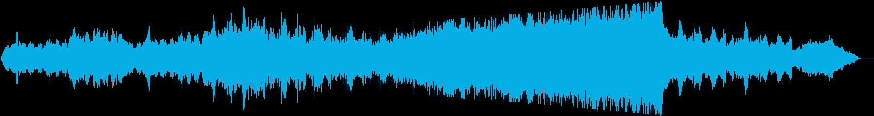 ストリングスの優しく優雅な雰囲気の曲ですの再生済みの波形